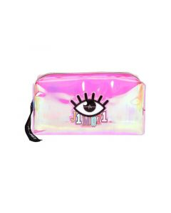 Lisa&Lena Beauty Bag Holo Roze