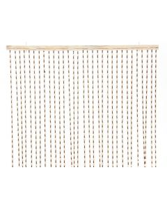 Nat Wooden Beads Curtain Natural/Colour(S) 1.5X90X200Cm