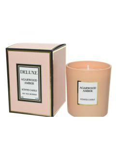 Wax Scented Candle Incl Glass Nude Dia7X8Cm