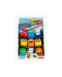 Mega Bloks First Racers Assortiment Per Stuk