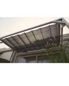 Nesling Pergola Douglas Wall 2 370X500Cm Antraciet