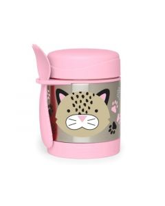 Zoo Insulated Food Jar Leopard