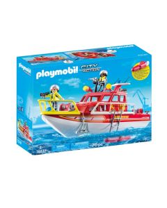 Playmobil 70147 Brandweerboot