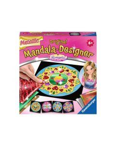 Mandala-Designer Mini Metallic Romantic