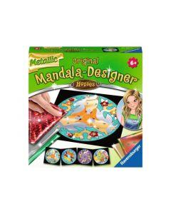 Mandala-Designer Mini Metallic Horses