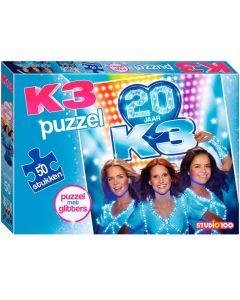 K3 Puzzel Met Glitter
