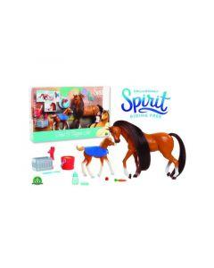 Spirit Koffer Mama & Veulen Met Accessoires