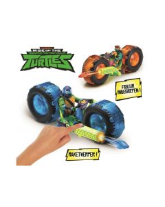 Teenage Mutant Ninja Turtles  Deluxe Voertuig Met Beweegbare Figuur Assortiment Per Stuk