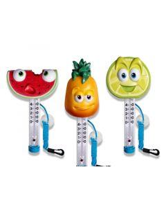 Kokido Tutti Frutti Thermometer Assortie