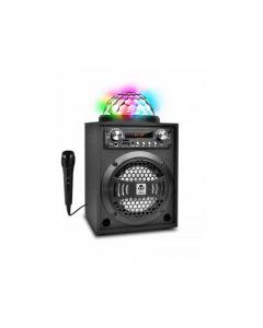 Idance Blaster 5 Bleutooth Speaker Met Lightshow Fm Usb En Micro