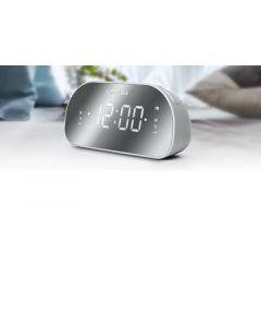 Muse M170Cmr Clockradio Fm Spiegeldisplay Dualalarm