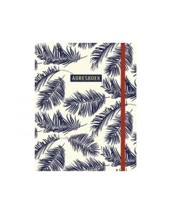 Adresboek Botanical Blue