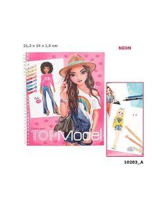 Topmodel Create Your Drawing Book