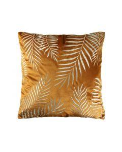 Kussen Botanic 45X45Cm Leather Brown