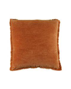 Kussen Feline 45X45Cm Leather Brown
