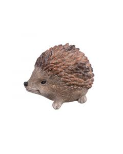 Hedgehog Polyresin Brown-Silver 9X12X9Cm