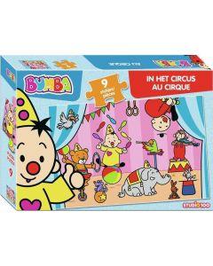 Bumba Puzzel Circus 9 Stuks