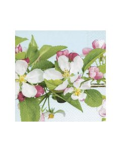 Servetten 33X33Cm 20St. Apple Blossom