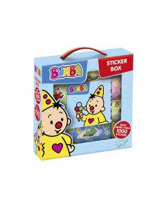 Bumba Stickerbox - 12 Rolls + Booklet