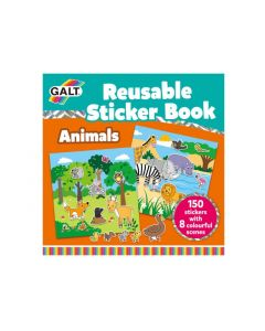 Galt Stationery - Reusable Sticker Book - Animals