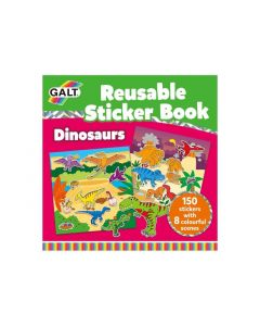 Galt Stationery - Reusable Sticker Book - Dinosaurs