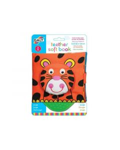 Galt First Years - Teether Soft Book – Jungle