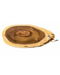 Plank Ovaal Acacia Large 52X23Cm
