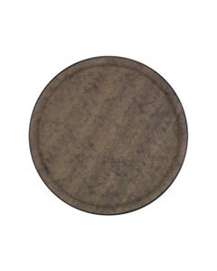 Platex 90036824 | Dienblad Galuchat Moka Rond 36Cm