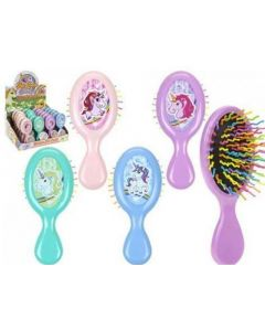 Unicorn Mini Cushion Brush Assortiment Per Stuk