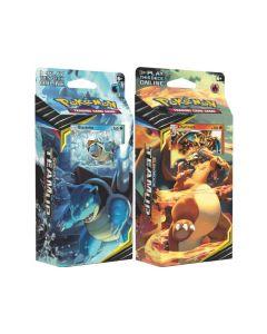 Pokemon Thema Deck 9 Team Up Assortiment Per Stuk