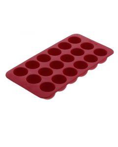 Lekue Ijsblokvorm Uit Rubber Voor 18 Ronde Ijsblokjes 22X11X2.3Cm