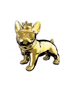 Idance Funky Bull/Bt Speaker/Dog Design/Gold