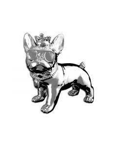 Idance Funky Bull/Bt Speaker/Dog Design/Silver