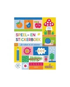 Speel En Stickerboek De Natuur En De Seizoenen