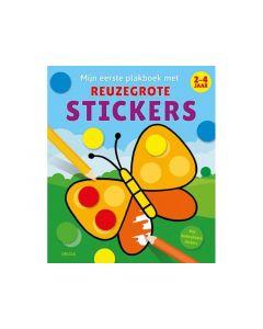Mijn Eerste Plakboek Met Reuzegrote Stickers 2-4J