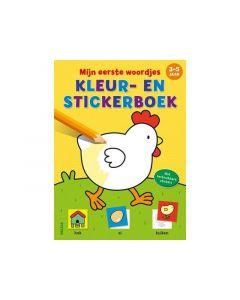 Mijn Eerste Woordjes Kleur-En Stickerboek 3-5J
