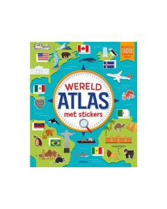 Wereldatlas Met Stickers