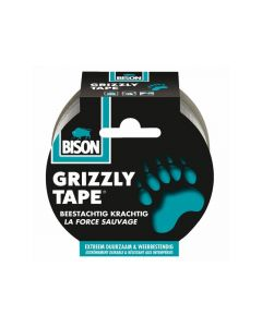 Grizzly Tape Zilver 10M