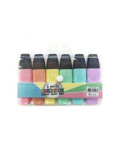 Highlighters Pastel 6 Stuks