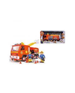 Brandweerman Sam Brandweerwagen + Figuren 28Cm