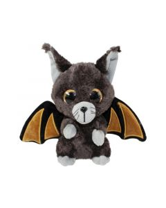 Lumo Stars Knuffeldier Lumo Halloween Bat Battis - Classic - 15Cm