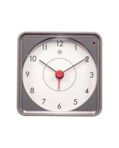 Nextime Alarm Clock - 7.3 X 7.3 X 3.3 Cm - Grey - 'Nathan'
