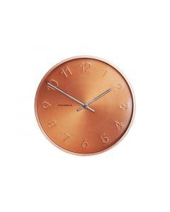 Cloudnola Wall Clock - Ø 30 Cm - Copper – 'Trusty'