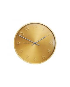 Cloudnola Wall Clock - Ø 30 Cm – Gold – 'Trusty'