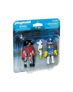 Playmobil 70080 Duopack Ruimte Agent En Robot