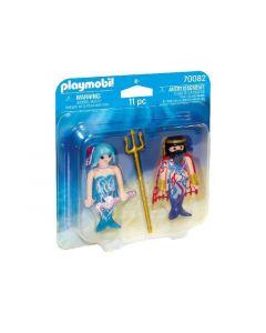 Playmobil 70082 Duopack Zeekoning En Meermin