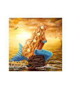 Rainbow Loom Crystal Card Kits Mermaid Dreams 18X18Cm