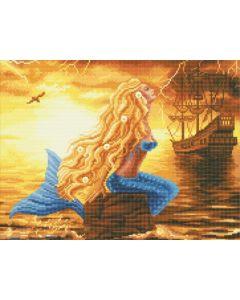 Rainbow Loom Crystal Art Kit Mermaid Dreams 40X50Cm Full Square