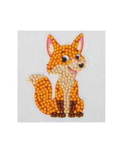 Rainbow Loom Crystal Stickers Sheeky Fox