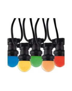 Calex Led Party Light E27 10Lamp Color 10Mtr Ip44